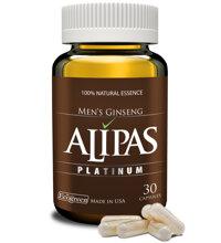 Viên uống sâm Alipas Platinum - Tăng cường sinh lực phái mạnh 30 viên