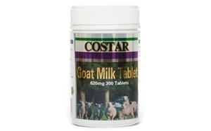 Viên uống sữa dê cô đặc Costar Goat Milk Tablet 620mg hộp 300 viên
