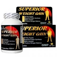 Viên uống tăng cân, tăng cơ hiệu quả Superior Weight Gain – 60 viên