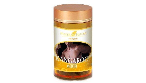 Viên uống tăng cường sức khỏe nam giới Health N Nature Kangaroo 6000mg
