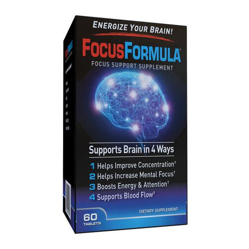 Viên uống tăng cường sức khỏe não bộ Focus Formula 60 viên