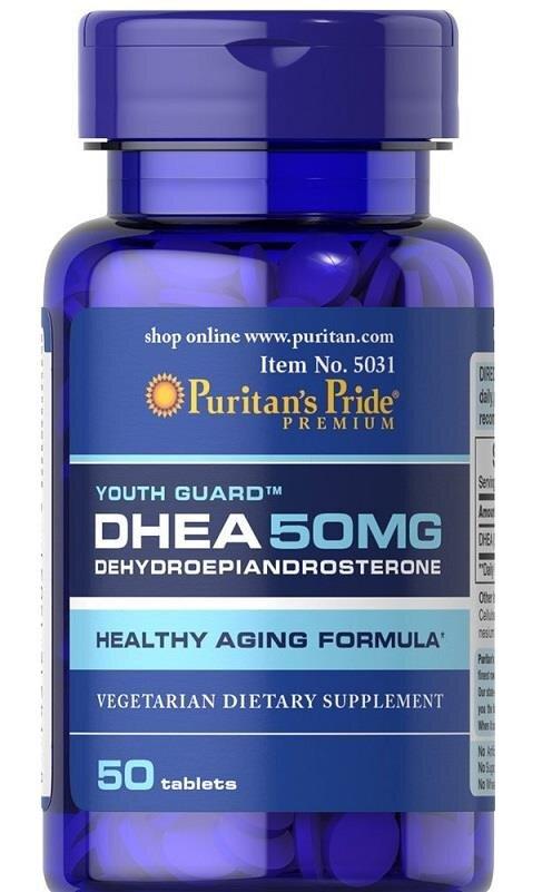 Viên uống tăng nội tiết tố cho nữ DHEA 50mg Puritan's Pride 50 viên