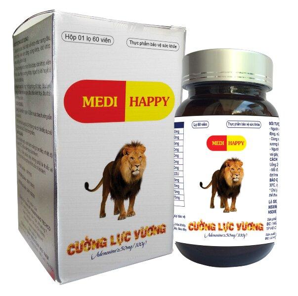 Viên uống thảo dược tăng cường sinh lý nam Cường Lực Vương MEDI HAPPY 60 viên