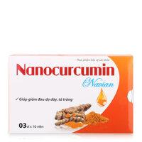 Viên uống tinh bột nghệ Nanocurcumin Navian 30 viên