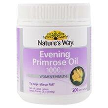 Viên uống tinh dầu hoa Anh Thảo Evening Primrose Oil Nature's way 200 viên