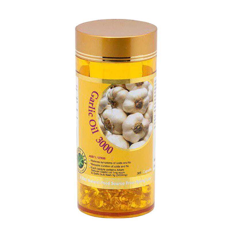 Viên uống tinh dầu tỏi Spring Leaf Garlic Oil – 365 viên