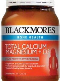 Viên uống tổng hợpBlackmores Total Calcium Magnesium + D3 - 200v