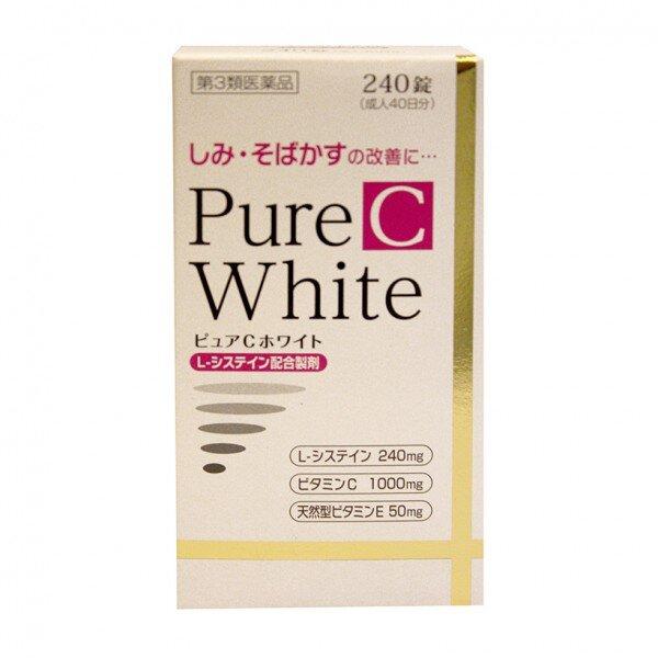 Viên uống trắng da Pure white C 240 viên