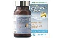 Viên uống trắng da trị nám Collagen Whitening Aishodo