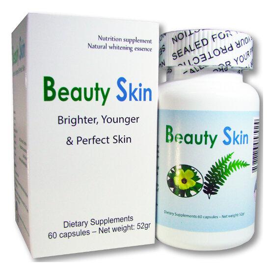 Viên uống trắng da và chống nắng Beauty Skin