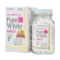 Viên uống trị nám tàn nhang làm trắng da Pure C White