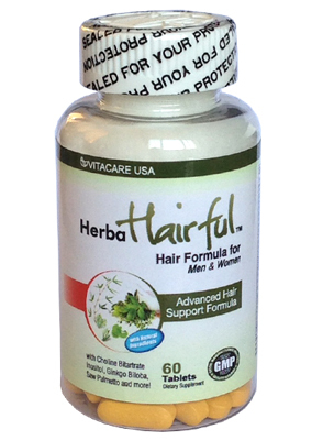 Viên uống trị rụng tóc – VitaCare USA Herba Hairful, 60 viên