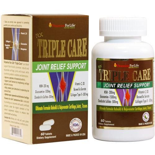 Viên uống Triple Care – Hỗ trợ điều trị các bệnh về xương khớp