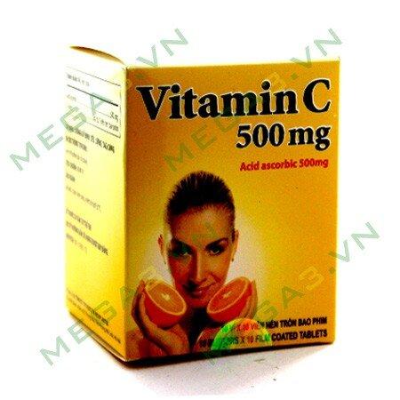 Viên uống vitamin C 500mg