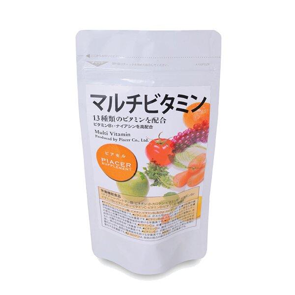 Viên uống Vitamin tổng hợp bổ sung vi chất năng lượng Piacer Multi Vitamin 60 viên
