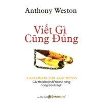 Viết gì cũng đúng - Anthony Weston