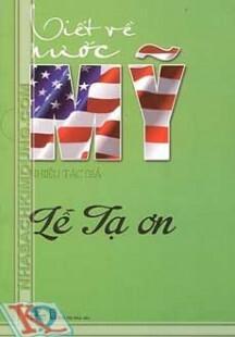Viết Về Nước Mỹ – Lễ Tạ Ơn