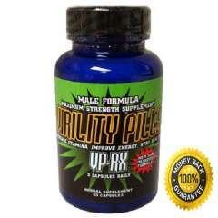 Virility VPRX Pills Thực Phẩm Chức Năng Hỗ Trợ Điều Trị Bệnh Rối Loạn Cương Dương và Xuất Tinh Sớm, 60 Viên