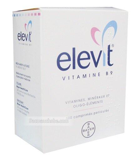 Vitamin cho bà bầu Elevit Vitamin B9