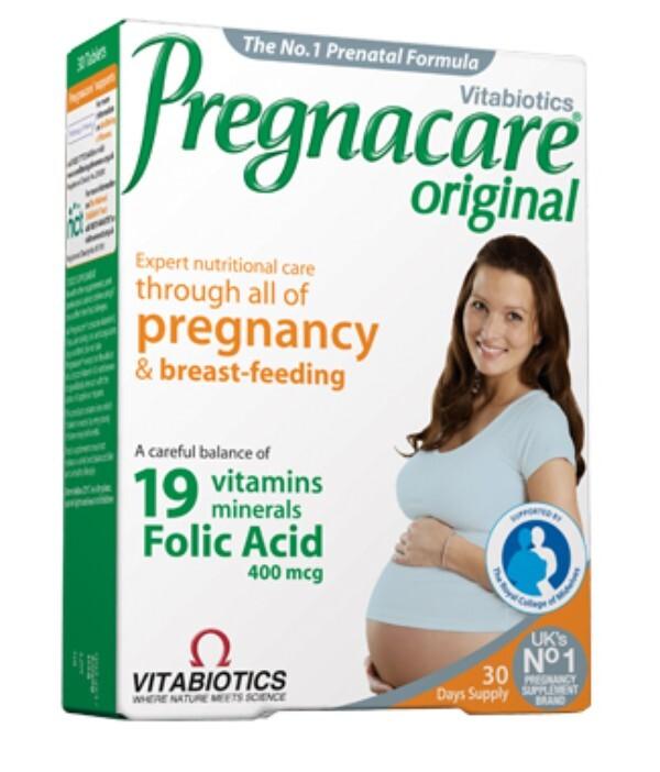 Vitamin cho bà bầu Vitabiotics Pregnacare Original tốt cho mẹ khỏe cho bé