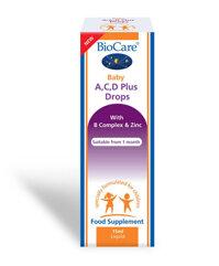 Vitamin D Drops BioCare Baby (15ml)