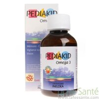 Vitamin Pediakid bổ sung Omega 3 & DHA - 125 ml
