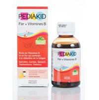 Vitamin PediaKid Sắt & Vitamin B - 125 ml