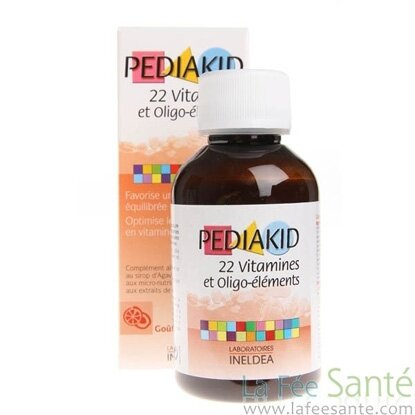 Vitamin PediaKid tổng hợp bổ sung 22 vitamin - 125ml