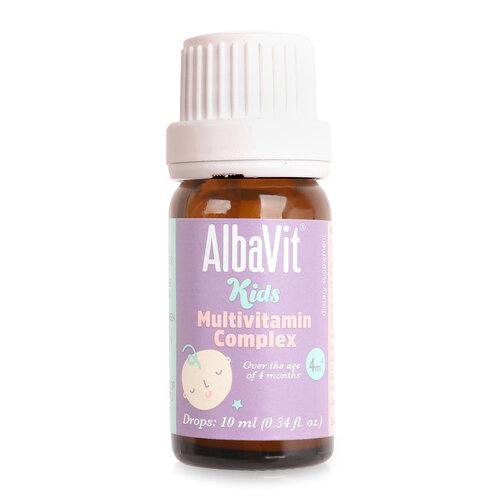 Vitamin tổng hợp Alba Thyment Albavit Kids Multivitamin Complex 10ml