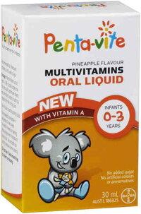 Vitamin tổng hợp cho bé 0-3 tuổi Pentavite 30ml