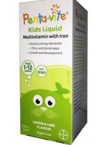 Vitamin tổng hợp cho bé Penta-vite 200ml