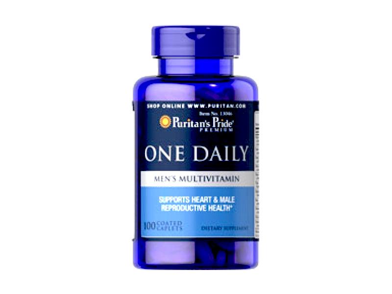 Vitamin tổng hợp cho nam One Daily Men Puritan's Pride – 100v