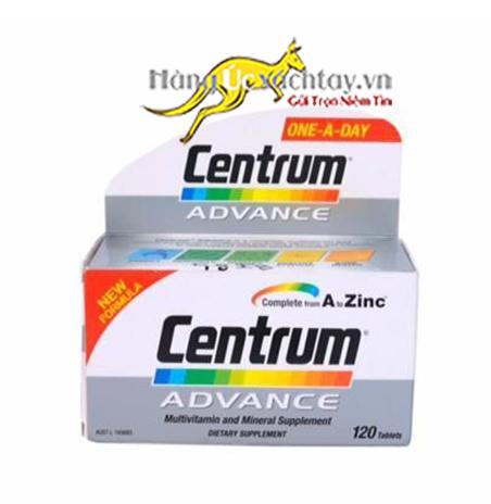 Vitamin tổng hợp cho người dưới 50 tuổi Centrum Advance MultiVitamin