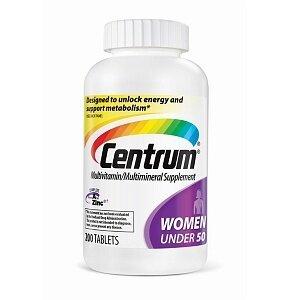 Vitamin tổng hợp cho phụ nữ Centrum Women - dưới 50 tuổi, hộp 200 viên