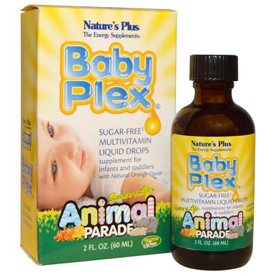 Vitamin tổng hợp cho trẻ Baby Plex hãng Nature's Plus dạng nước 45ml
