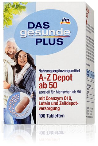 Vitamin tổng hợp Das Gesunde Plus A-Z Depot AB 50