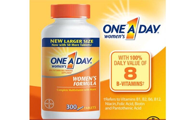 Vitamin tổng hợp One a day Women's Formula Vitamins - 300 viên