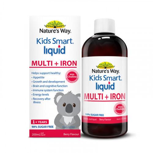 Vitamin tổng hợp và sắt nature's way 200ml
