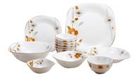 Bộ 12 món đồ dùng bàn ăn thủy tinh ngọc Vitriares 951-12V