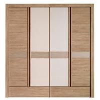 Tủ quần áo 4 cánh cửa Jang In WR-0489AD