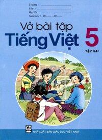 Vở bài tập nâng cao Tiếng Việt 5 tập 1