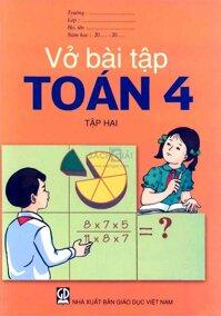Vở bài tập nâng cao toán 4 tập 2