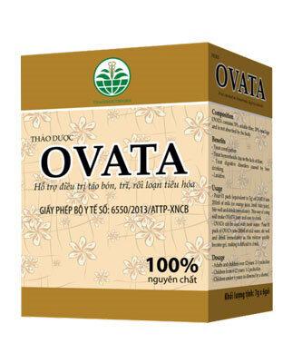 Vỏ hạt mã đề chuyên trị táo bón, rối loạn tiêu hóa Ovata 98g