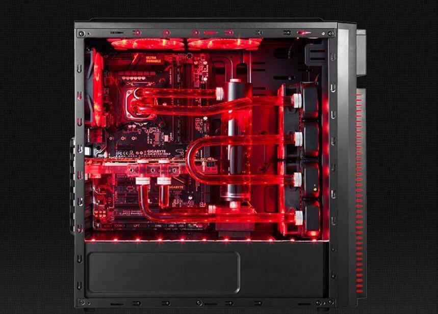 Vỏ máy tính Golden Field G1B/W chống bức xạ