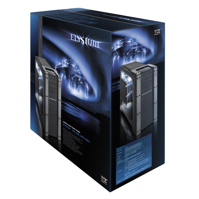 Vỏ máy tính Xigmatek Full ATX Elysium Black window - Đen