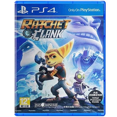 Đĩa game PS4 Ratchet Clank hệ Asia