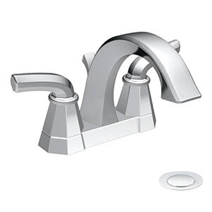 Vòi chậu lavabo nóng lạnh Moen S442