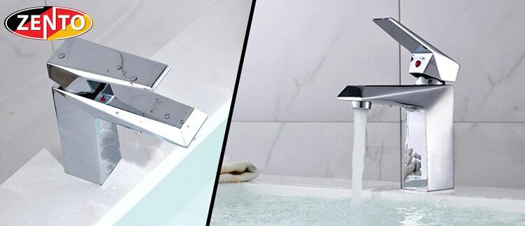 Vòi chậu lavabo nóng lạnh Zento ZT2063