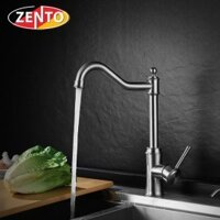 Vòi rửa bát nóng lạnh inox 304 Zento SUS5572
