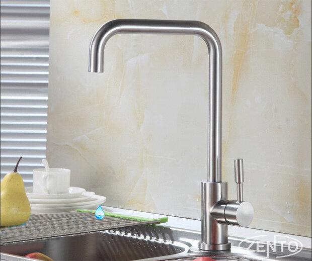 Vòi rửa bát nóng lạnh inox304 Zento SUS5564